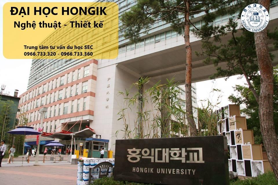 ĐẠI HỌC HONGIK. TOP 1% SEOUL